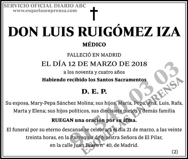 Luis Ruigómez Iza